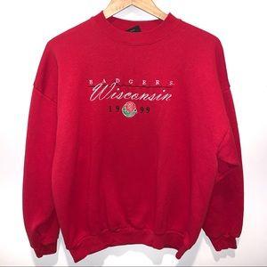 Vintage Wisconsin Badgers 1999 Rose Bowl Crew Neck